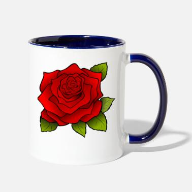 Blume Rose Blume - Two-Tone Mug