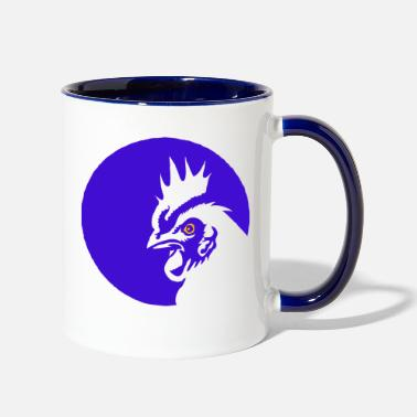 Rooster rooster - Two-Tone Mug