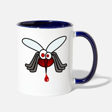 Blood Suckers blood - Two-Tone Mug