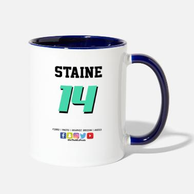 Jersey Number Jersey Number - Two-Tone Mug