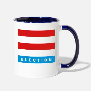 Elect Election - Two-Tone Mug