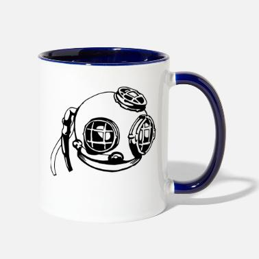 Diving Mask Deep Sea Diving Mask - Two-Tone Mug