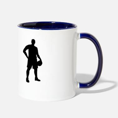 Basketball Lover Basketball. Basketball Lover. Basketballer. Hobby - Two-Tone Mug