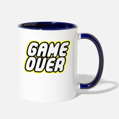 Game Over Game over - Two-Tone Mug