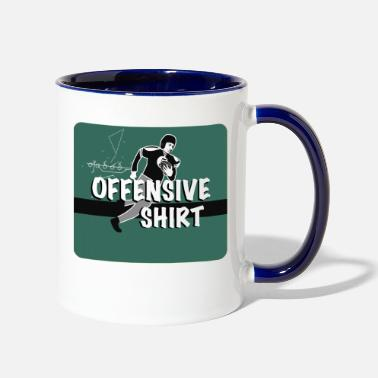 Offensive Offensive - Two-Tone Mug