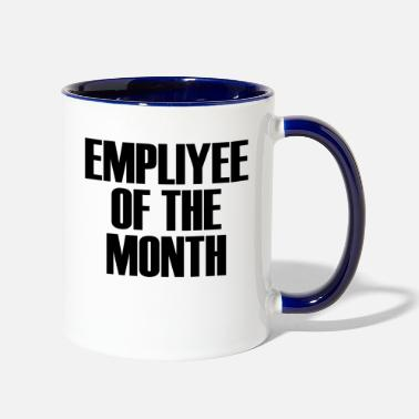 Employee Employee Of The Month - Two-Tone Mug