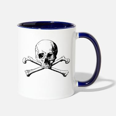 Skull SKULL AND CROSSBONES - Two-Tone Mug