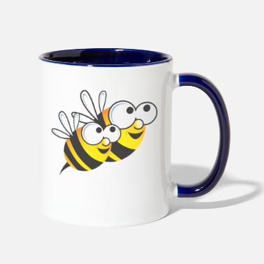 Bee Honey Bee - Two-Tone Mug