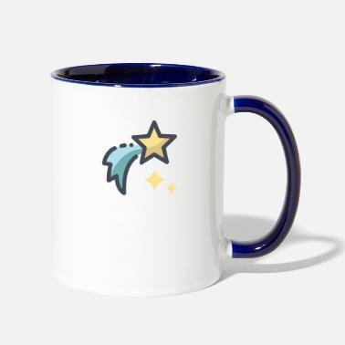 Star shooting star - Two-Tone Mug