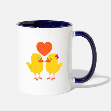 Couples Couples girlfriend couple friend gift couple love - Two-Tone Mug