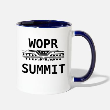 Miscellaneous WOPR Summit 0x0 Black Text Misc - Two-Tone Mug