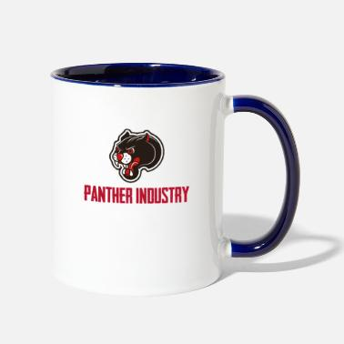 Industry panther industry - Two-Tone Mug