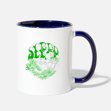 Stoner Metal sleep band stoner doom metal - Two-Tone Mug