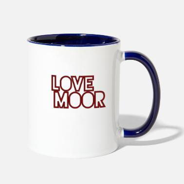 Message Lovemoor - Two-Tone Mug