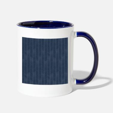 Bohemian Boho Bohemian Garden Party Navy - Two-Tone Mug
