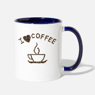 Coffee Bean Coffee Beans - Two-Tone Mug