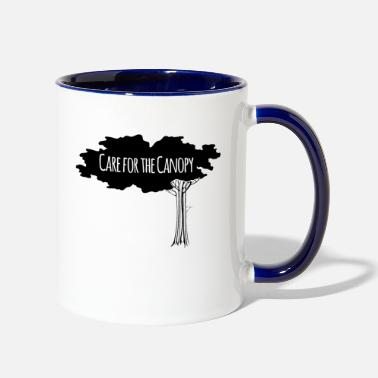 Canopy Care For The Canopy - Two-Tone Mug