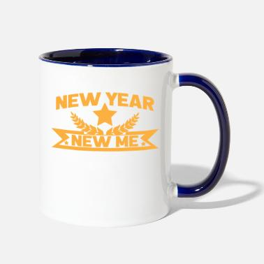 New Year New year new me - Contrast Coffee Mug