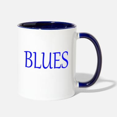 Blues BLUES - Two-Tone Mug