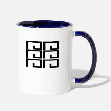 Shape shape - Two-Tone Mug