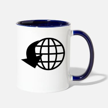 World world - Two-Tone Mug