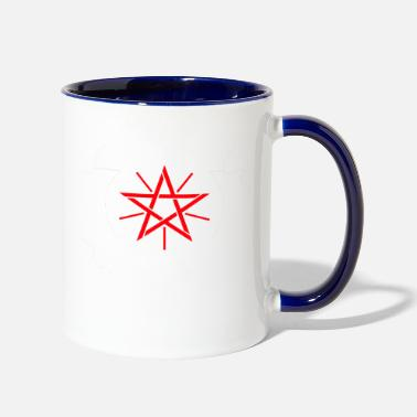 Star Of David star of david - Two-Tone Mug