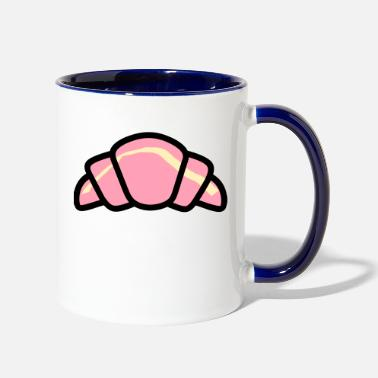 Strudel Croissant Colour - Two-Tone Mug