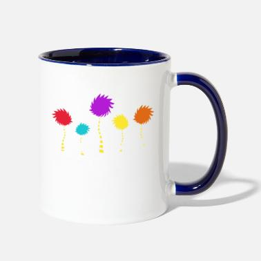 Post Unless Sun Color - Two-Tone Mug
