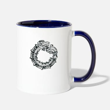 Serpent Aztec Serpent - Two-Tone Mug
