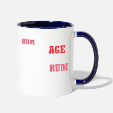 Rum Rum Improves With Age Improve With Rum - Contrast Coffee Mug