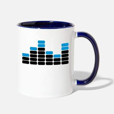 Audio audio - Two-Tone Mug