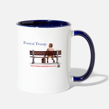 Government Forrest Trump - Two-Tone Mug
