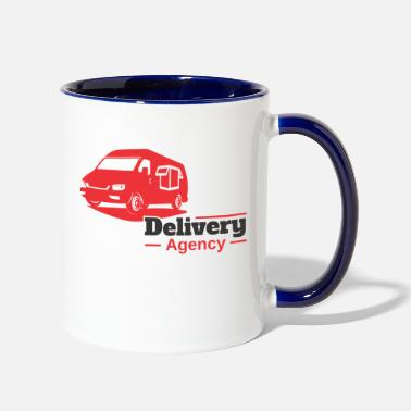 Delivery Delivery Agency - Two-Tone Mug