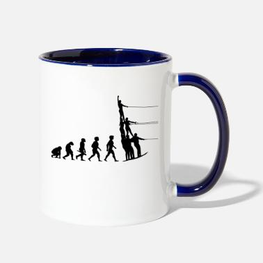 Water Sports Evolution Water Ski Water Sports - Contrast Coffee Mug