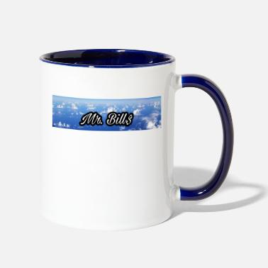 Mr. Bill$ logo - Two-Tone Mug