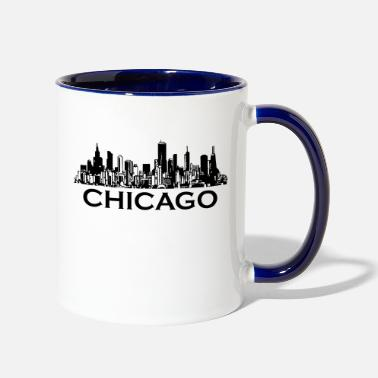 Chicago chicago - Two-Tone Mug