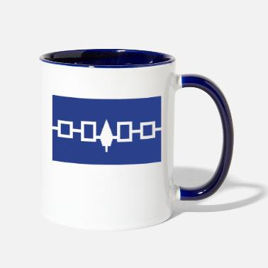 Iroquois Flag - Two-Tone Mug