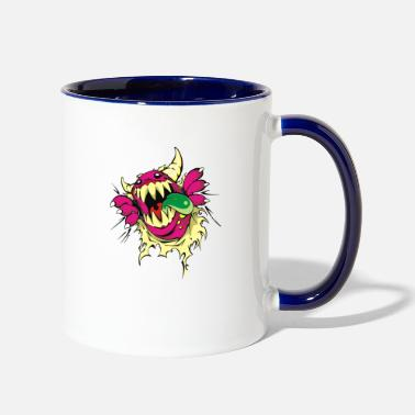 Monster monster - Contrast Coffee Mug
