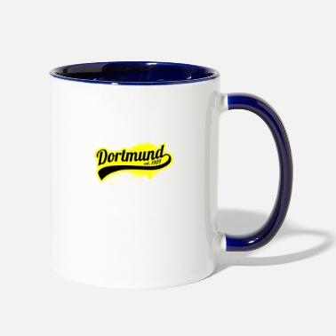 1909 Soccer Liga GermanyDortmund 1909 Ruhr Area Gift - Two-Tone Mug