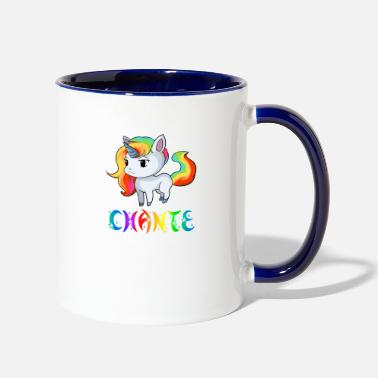 Chant Chante Unicorn - Two-Tone Mug