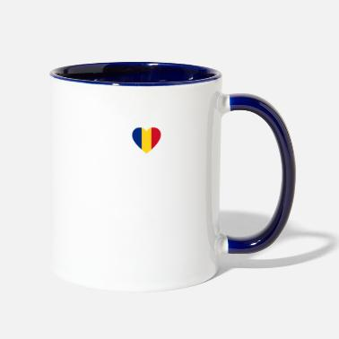 Mare Love Romania SATU MARE - Two-Tone Mug