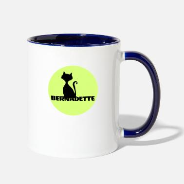 Name Day Bernadette name first name - Contrast Coffee Mug