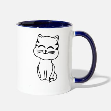 Sumu Lee cat - Two-Tone Mug