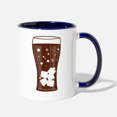 Coca Coca Сola glass - Two-Tone Mug