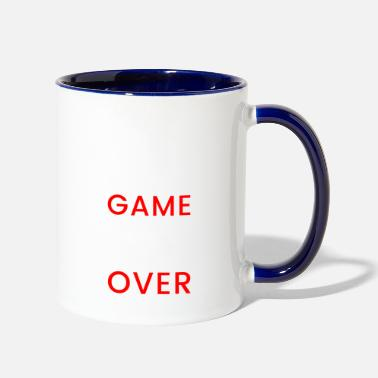 Gamer Console Game Over Gamer Console - Two-Tone Mug