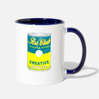 Creative Art Club Gilmer High Creative Soup - Two-Tone Mug