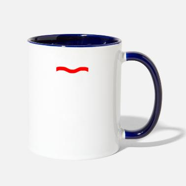 Record Label Factory Records Retro Record Label Mens Music - Two-Tone Mug