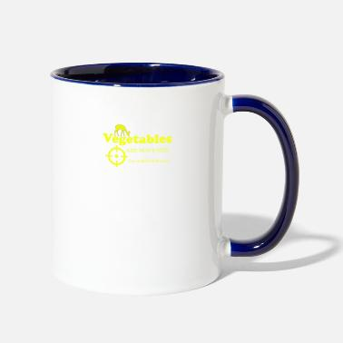 Vegetable Vegetables Are not Food Vegetables - Two-Tone Mug