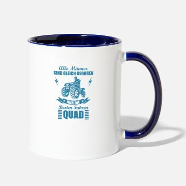 Off Are born alike Quad Offroad off-road vehicle - Two-Tone Mug