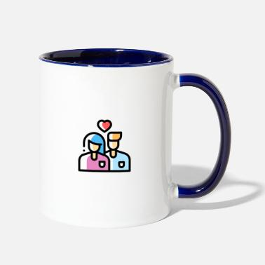 Date dating - Contrast Coffee Mug